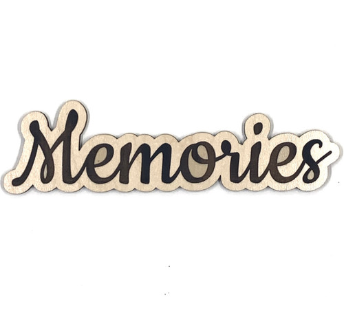 Memories Page Topper