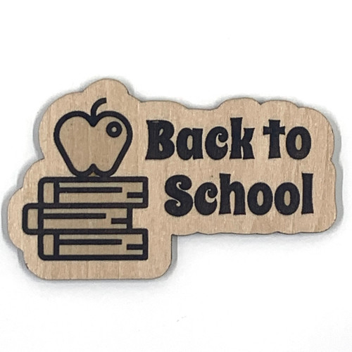 Back to School Wooden Embellishment