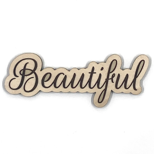 Beautiful Wooden Embellishment