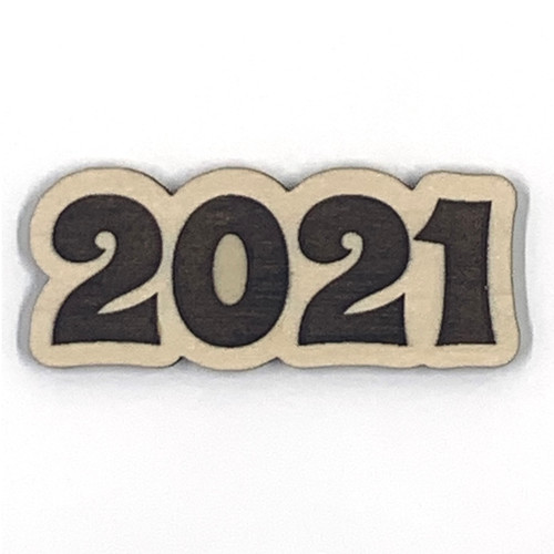 2021 Wooden Embellishment