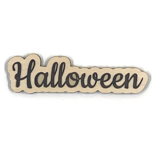 Halloween Wooden Embellishment