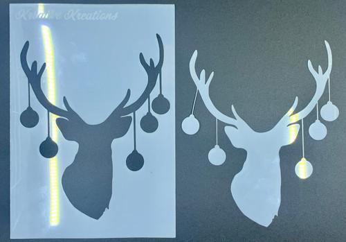 "Oh Deer 4"" x 6""  Stencil + Mask"