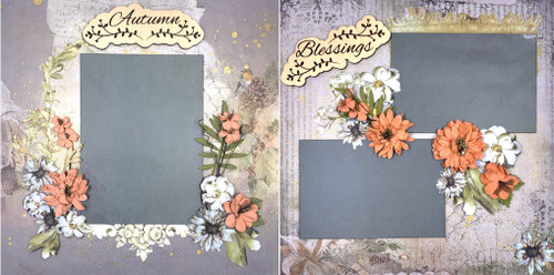 August Blessings 2-Page Layout (Virtual Class 32)