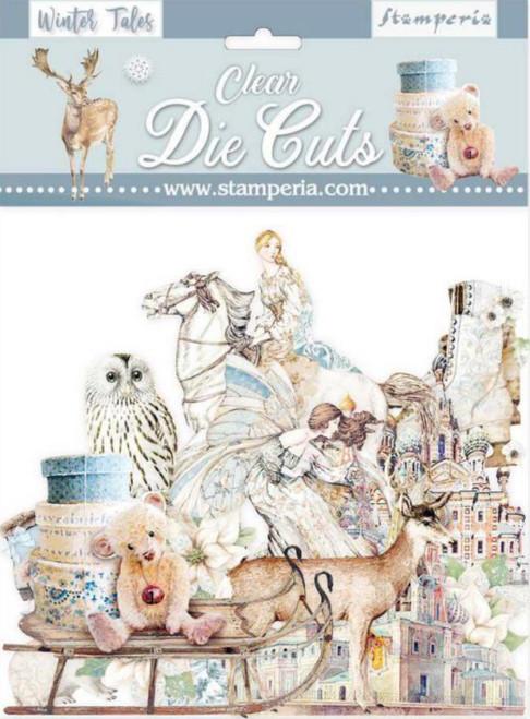 Stamperia Winter Tales Clear Die Cuts