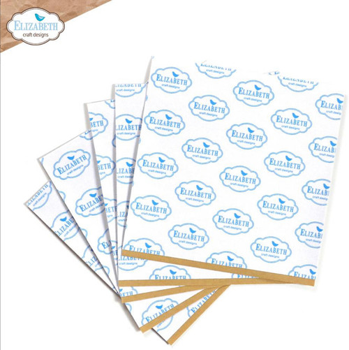 """Elizabeth Craft Clear Double Sided Adhesive - 6"""" x 6"""" Sheets (5 pk)"""