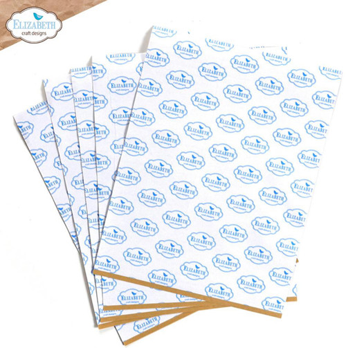 """Elizabeth Craft Clear Double Sided Adhesive - 8.5"""" x 11"""" Sheets (5 pk)"""