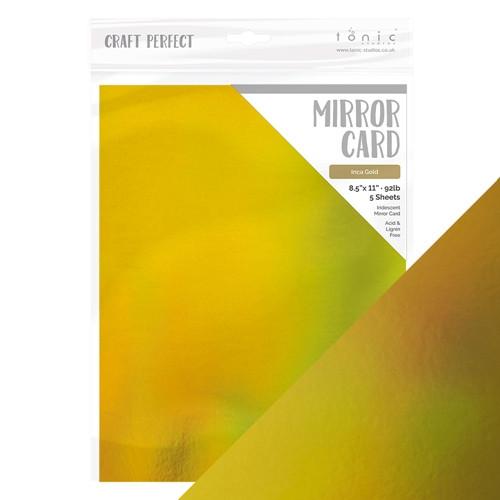 Tonic Craft Perfect  Mirror Card Inca Gold 8.5 x 11