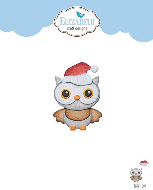 Elizabeth Craft Designs Owl Die Set