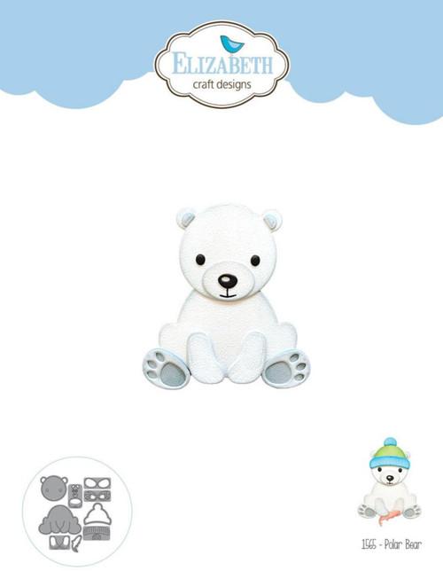 Elizabeth Craft Designs Polar Bear Die Set