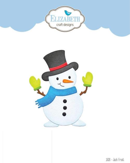 Elizabeth Craft Designs Jack Frost Snowman Die Set