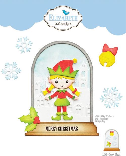 Elizabeth Craft Designs Snow Globe Die Set