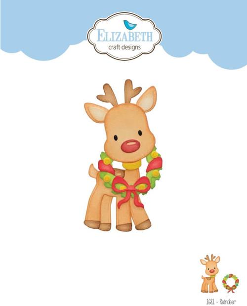 Elizabeth Craft Designs Reindeer Die Set