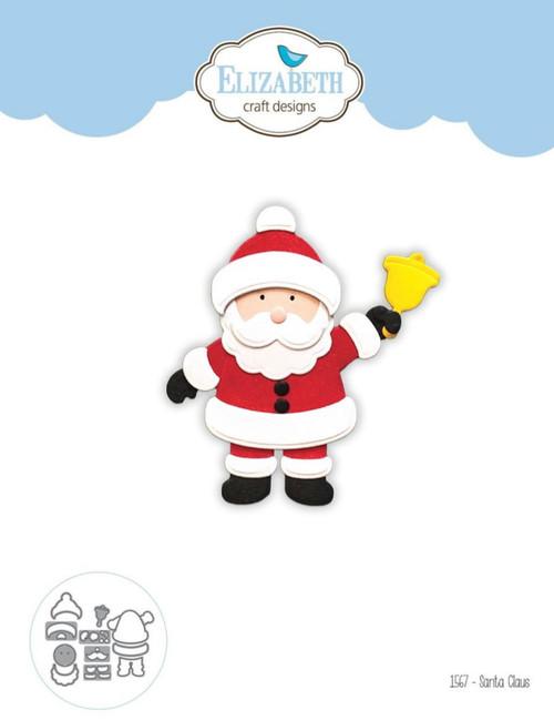 Elizabeth Craft Designs Santa Claus Die Set