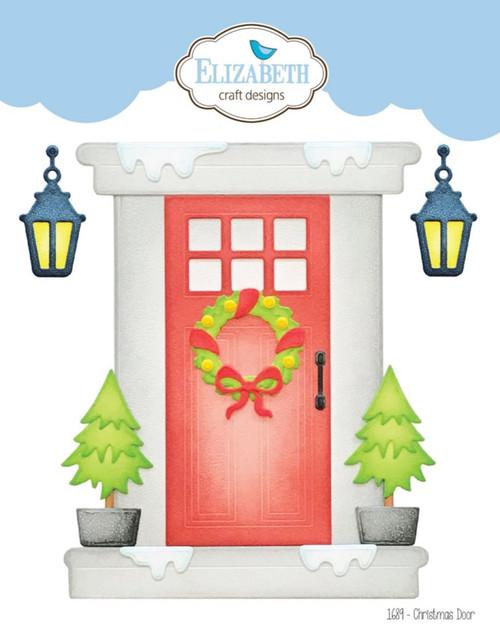 Elizabeth Craft Designs Christmas Door Die Set