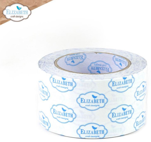 Elizabeth Craft Clear Double Sided Adhesive - 64mm (2.5 IN)   25 m (27 yards)