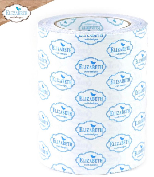 Elizabeth Craft Clear Double Sided Adhesive - 152mm (6 IN)   25 m (27 yards)