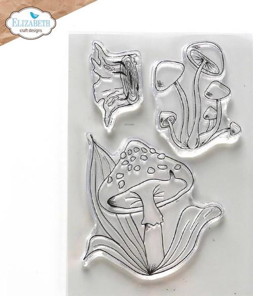 Elizabeth Craft Designs Mushroom Magic Stamp Set