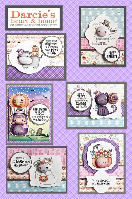 Darcie's Heart & Home Fa-boo-lous Halloween Card Kit