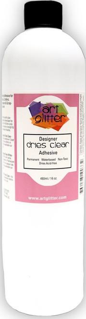Art Glitter Designer Dries Clear Glue 16 oz. Refill Bottle