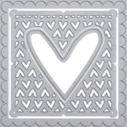 Tonic Studios Cutesy Heart Patchwork Die Set