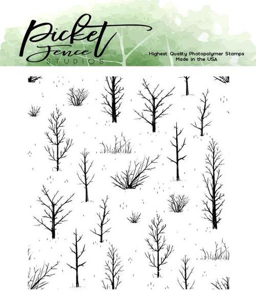Picket Fence Studios Autumn Field Stamp Set