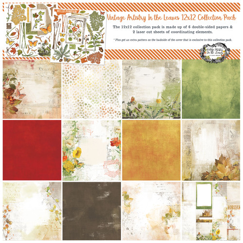 49 and Market Vintage Artistry In the Leaves – 12×12 Collection Pack