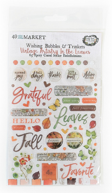 49 & Market Vintage Artistry In the Leaves – Wishing Bubbles and Trinkets