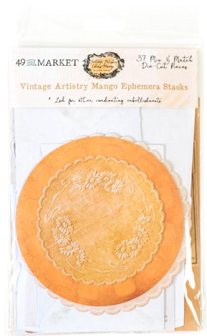 49 and Market Vintage Artistry Mango Ephemera Stacks