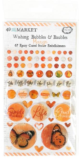 49 & Market Vintage Mango – Wishing Bubbles and Baubles