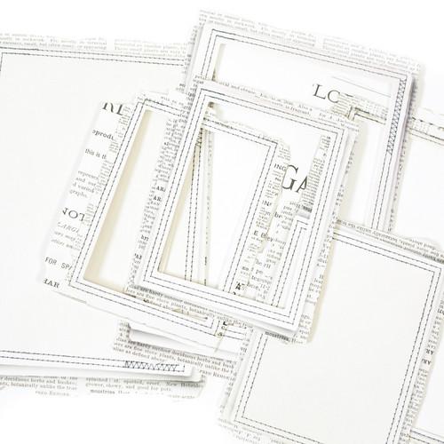 49 and Market Vintage Artistry Essentials - Rectangle Stitched Frames