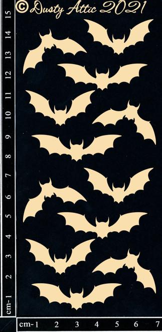Dusty Attic Chipboard Bats #2