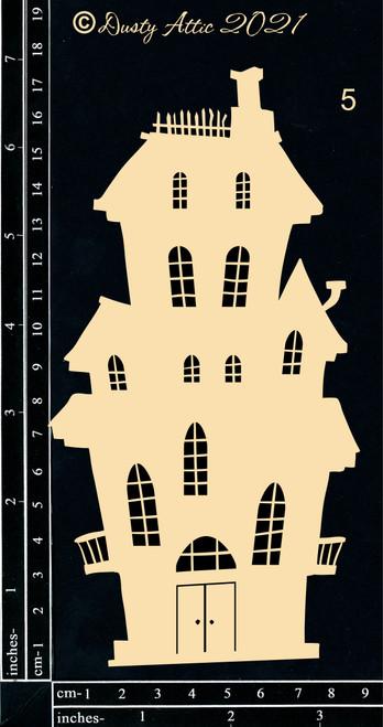 Dusty Attic Chipboard Haunted House #5