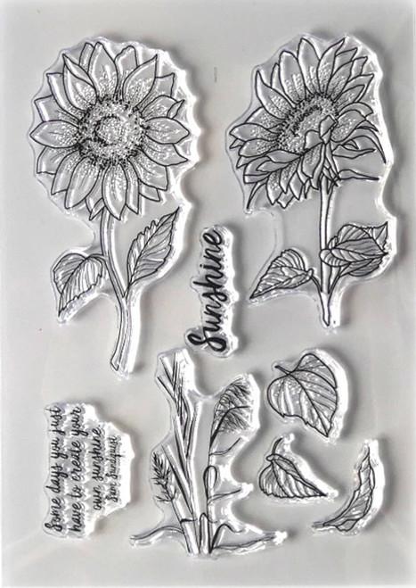Elizabeth Craft Designs Sunshine Stamp Set