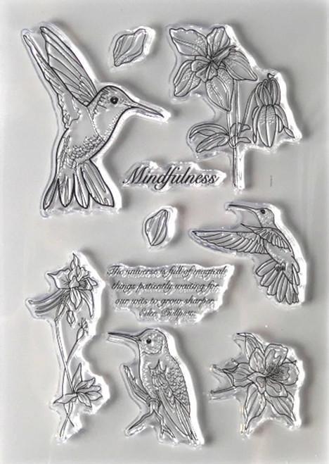 Elizabeth Craft Designs Mindfulness Stamp Set