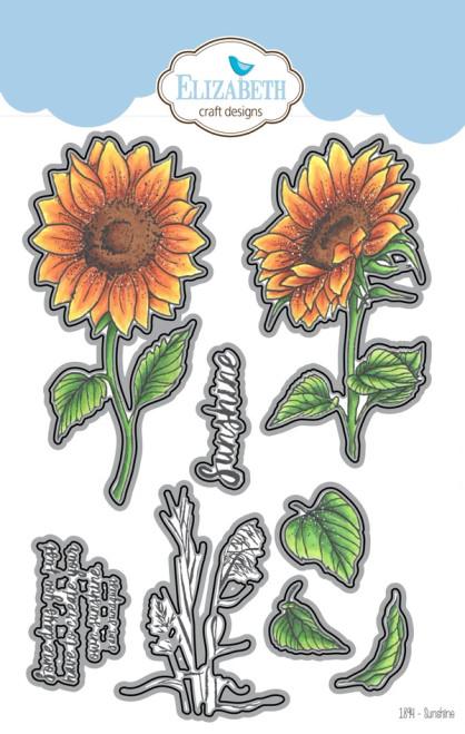 Elizabeth Craft Designs Sunshine Metal Die Set