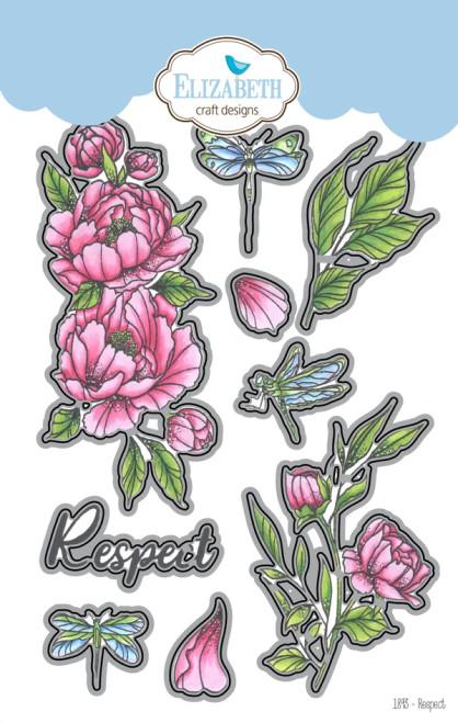 Elizabeth Craft Designs Respect Metal Die Set
