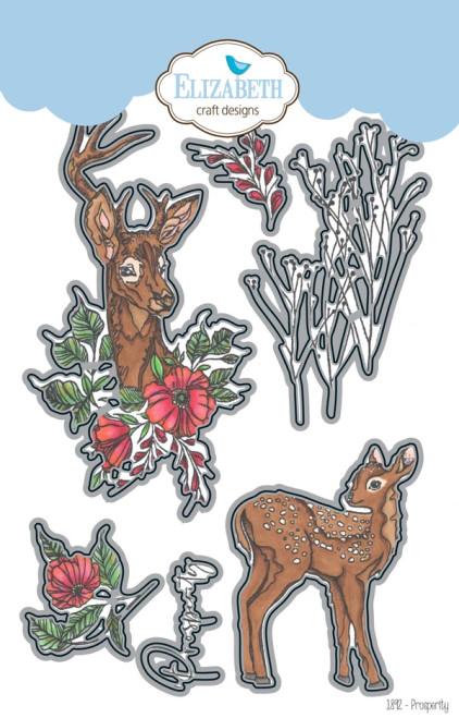 Elizabeth Craft Designs Prosperity Metal Die Set