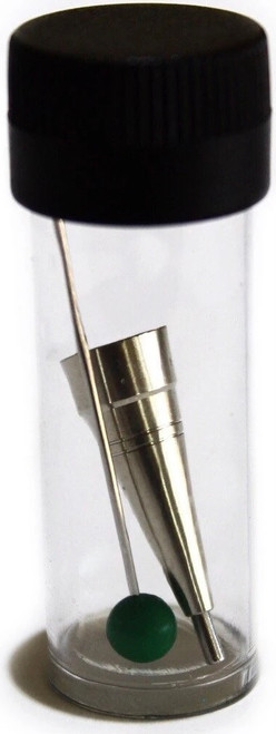 Art Glitter Glue Metal Tip w/Stainless Pin