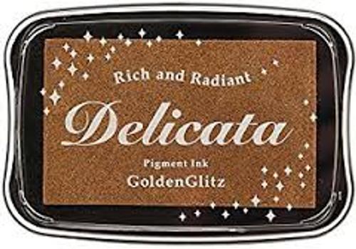 Tsukineko Delicata Golden Glitz Ink Pad