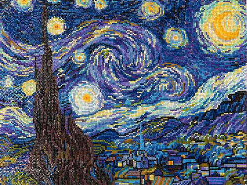 Diamond Dotz Starry Night