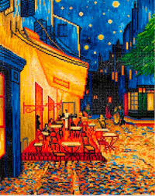 Diamond Dotz Cafe at Night (Van Gogh)