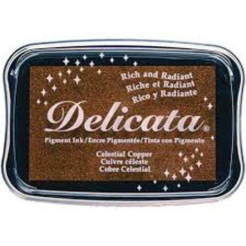 Tsukineko Delicata Celestial Copper Shimmer Ink Pad