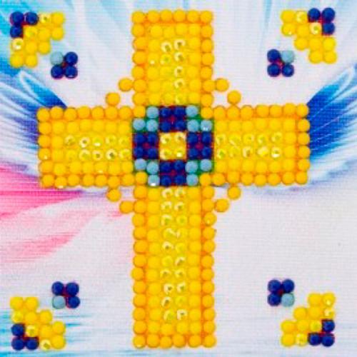 Diamond Dotz Golden Cross Starter Kit