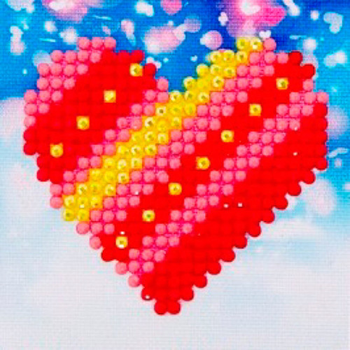 Diamond Dotz Patchwork Heart Starter Kit