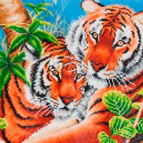 Diamond Dotz Tender Tigers
