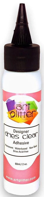 Art Glitter Designer Dries Clear Glue 2 oz.