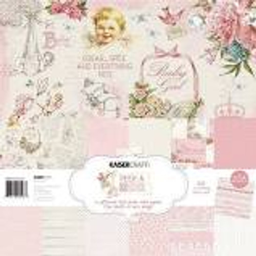 Peek A Boo Girl Paper Pack