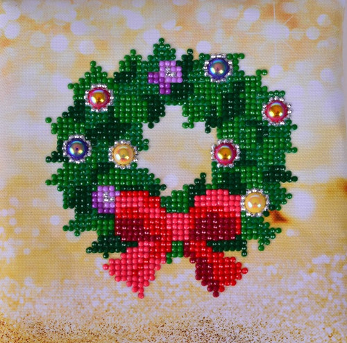 Diamond Dotz Christmas Wreath