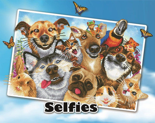 Diamond Dotz Love You Selfies