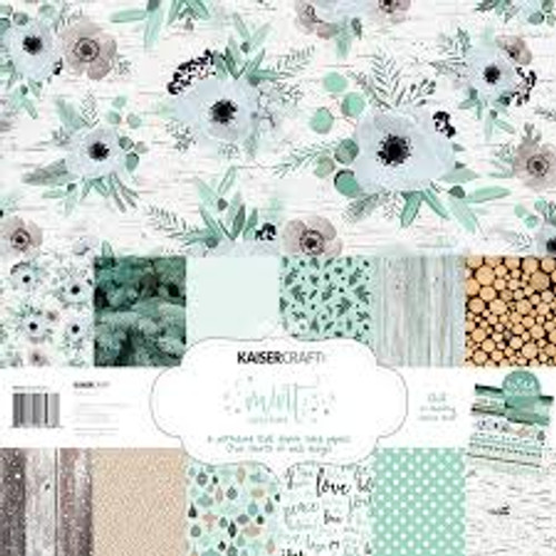 Kaisercraft Mint Wishes Paper Pack